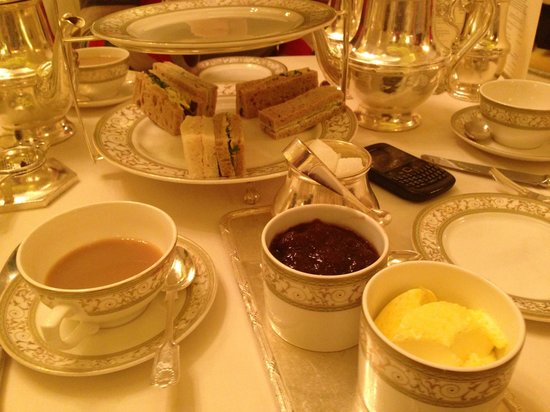 The Ritz London: Heavenly food!