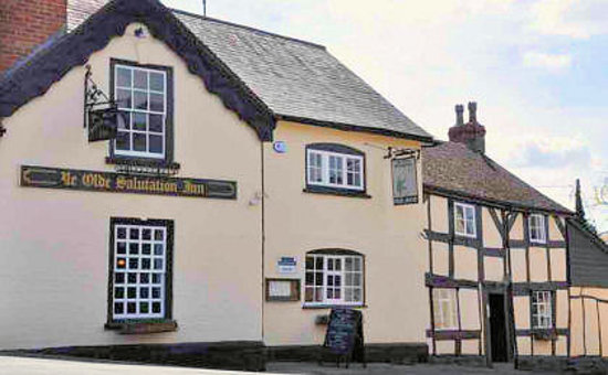 Salutation Inn from Village Green