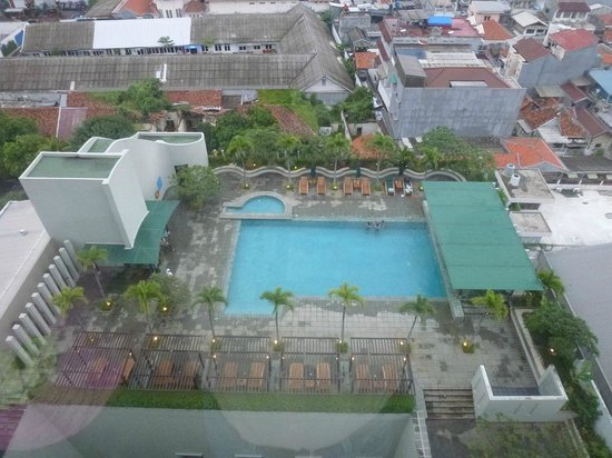 Alila Jakarta: View from room - hotel pool