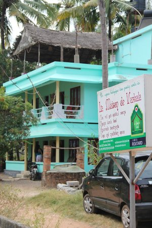 La Maison de Varkala: Hotel seen from the entrance