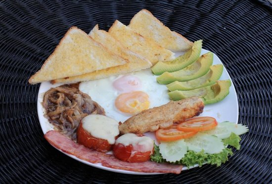 The Local - Riverside: Aussie breakfast