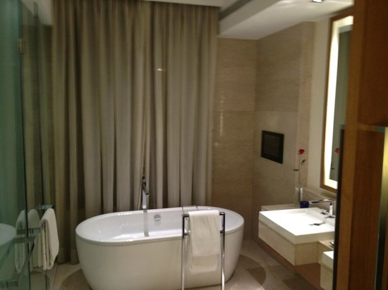 The Oberoi, Gurgaon: Tub and sinks