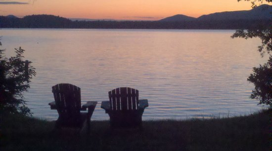 Hohmeyer's Lodge at Lake Clear/Sunset Lakeview Guesthouses:                   Clear Lake - Ahhhhh