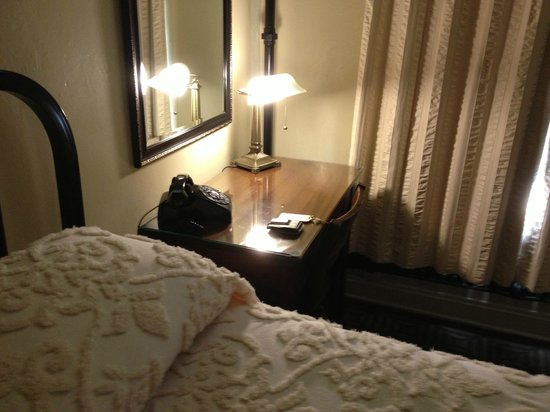 The Historic Hotel Congress: Old Style Desk and Phone