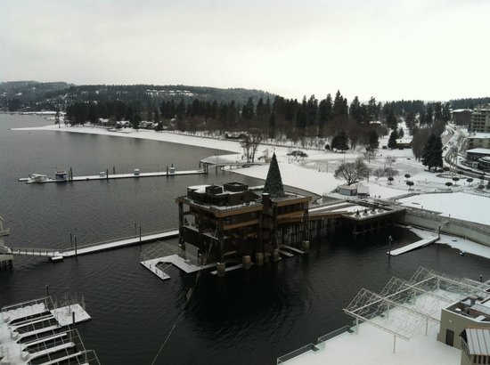 The Coeur d&#39;Alene Resort:                   Winter Bliss