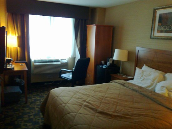 Comfort Inn Times Square West: Everything a weary tourist could wish for...