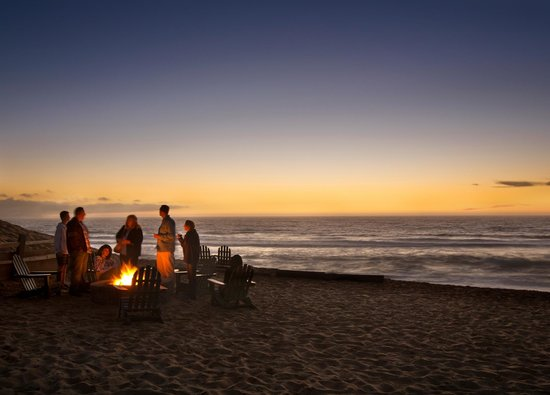 Marina, CA: Sunset Bonfire