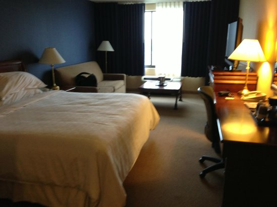 Sheraton Bucks County Hotel: Big, nice room