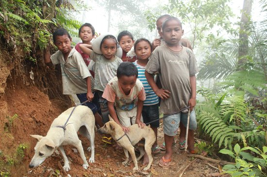 Ruteng, Indonesia: Children of Wae Rebo