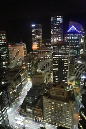 Amora Hotel Jamison Sydney:                   More night views