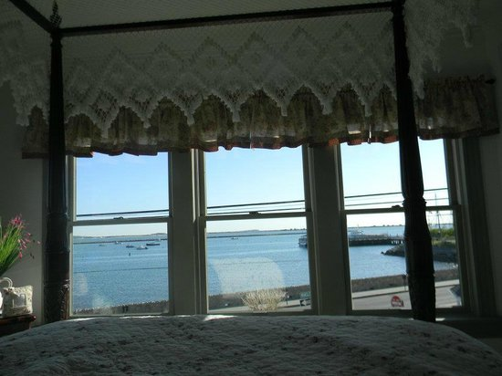 By The Sea Bed and Breakfast: View from the bed
