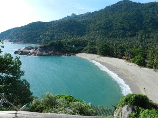 Mai Pen Rai Bungalows:                   The remote and beautiful beach at Mai pen Rai