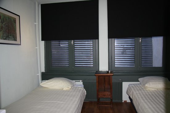 Liberty Hotel: double/twin room