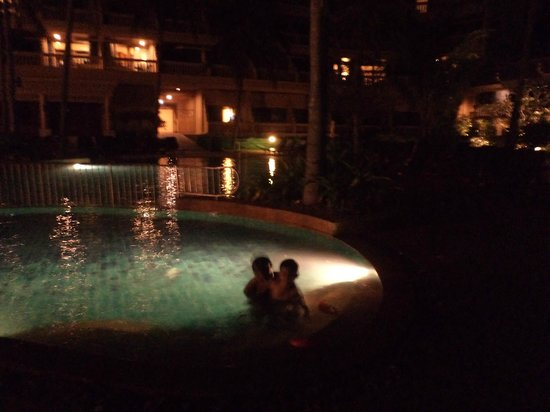 Phuket Kata Resort:                   Pool in the evening