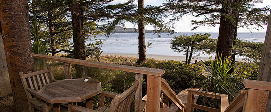 Chesterman Beach Bed and Breakfast: Lookout Suite deck