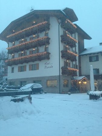 Rancolin: hotel sotto la neve