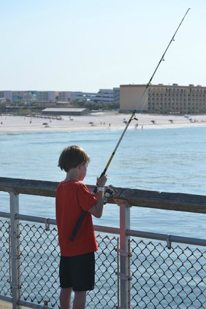 Calm before the storm picture of destin florida for Destin fl fishing report