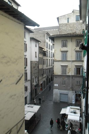 B & B Cimatori:                   View from our Double Room