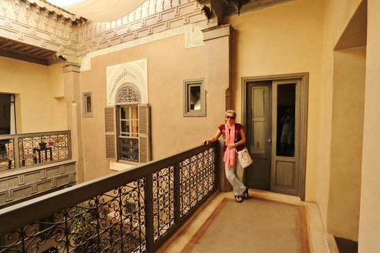 Riad Dar One: Outside our room