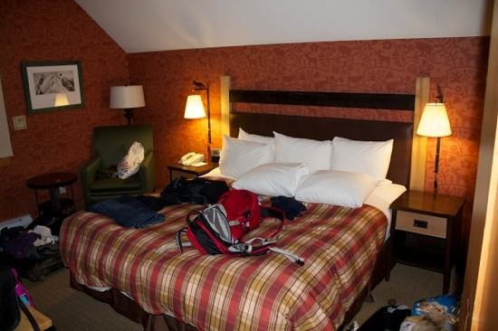 Fox Hotel &amp; Suites:                   Large King Bed in One Bedroom Suite
