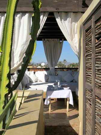 Roof Terrace- Riad Kheirredine