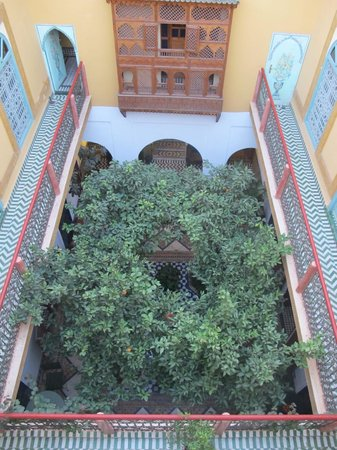 Ryad El Borj: Le patio