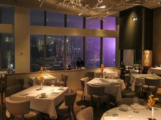 the restaurant and the view picture of asiate at