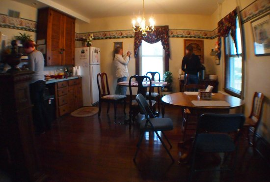 Kinzers, Pennsylvanie : Breakfast room.