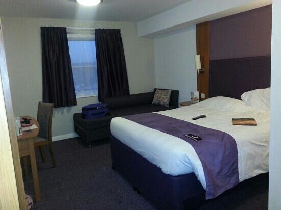 Strood, UK:                   Standard double room