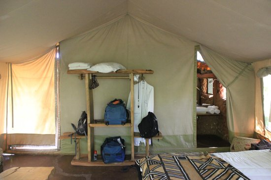 Olumara Tented Camp:                   Room