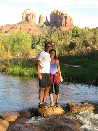 Sedona Cathedral Hideaway:                   Hiking at Cathedral Rock
