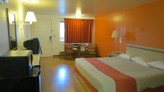 Motel 6 Gold Beach: Room layout