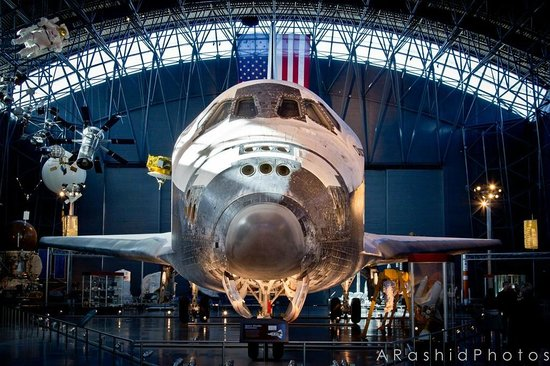 Fairfax, VA: Space Shuttle Discovery