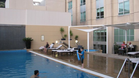 Swissotel Sydney:                   Pool Area
