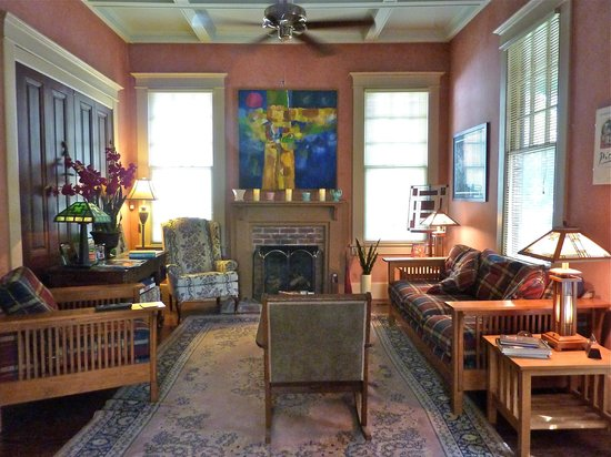 The Lattice Inn:                   Front parlor