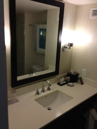 Renaissance Arlington Capital View Hotel: Great bath products and amenities