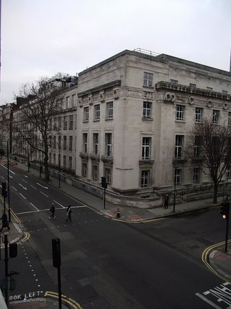 Staunton Hotel: The view to the left