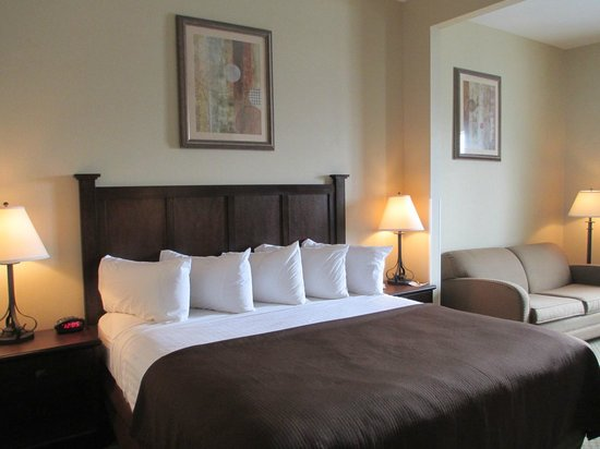 BEST WESTERN PLUS Frontier Inn: King Room w/Sofabed