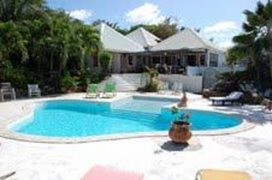 Oyster Pond, Saint-Martin / Sint Maarten: Pool View - it is a private pool