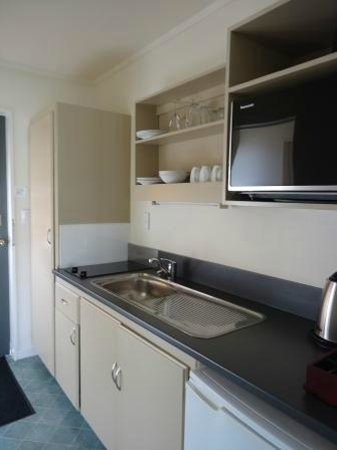 Lake Dunstan Motel: Every unit has a separate, self-contained kitchen