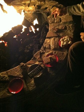 Bella Monte Hot Springs Resort and Spa:                   Fire Pit