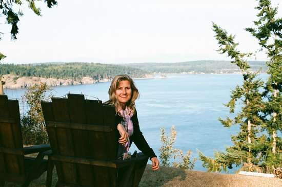 Oak Harbor, Waszyngton: Overlooking our bluff.... a great place to sit and do nothing