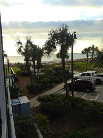 Dayton House Resort:                   veiw from room