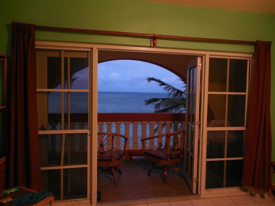 Banana Beach Resort:                   Taken from the living room area