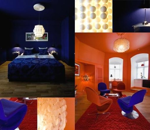 Hotel Alexandra: The Panton suite