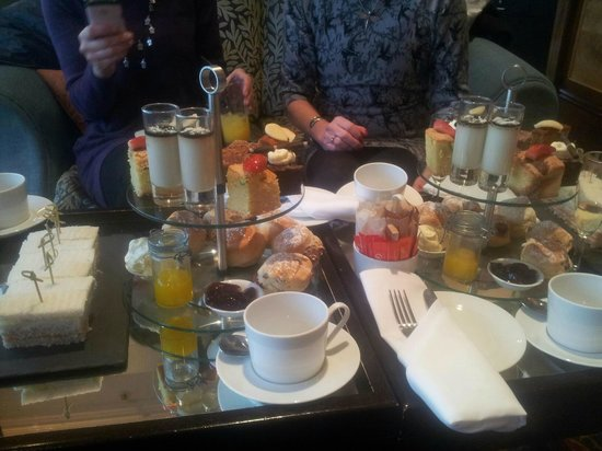 View At Breakfast Picture Of Bournemouth Highcliff Marriott Hotel Bournemouth Tripadvisor