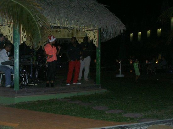 Coco Palm Resort:                   Great band Christmas Eve