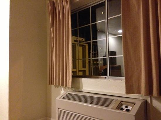 Bay Front Inn:                   window and heater
