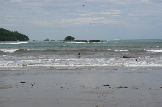 Dominical, Costa Rica:                   Beachfront of Coconut Grove