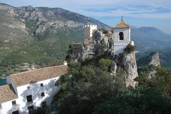 Guadalest Valley, view from the castle